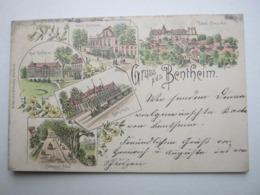 BENTHEIM , Schöne Karte Um 1897 - Bentheim