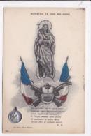 CP MILITARIA Monstra Te Esse Matrem Notre Dame Des Armées (petite Médaille) - Patriotic
