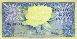 Ref. 524-920 - BIN INDONESIA . 1959. 5 RUPIAH LIMA INDONESIA 1959. 5 RUPIAH LIMA INDONESIA 1959 - Indonesia
