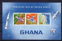 SPACE - GHANA - S/S MNH - Spazio