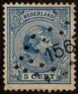 "NTH SC #41 U 1894 Princess Wilhelmina W/""156"" CV $0.25 - Period 1891-1948 (Wilhelmina)"