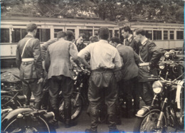 Belgium. The `BMW` Motocycling Meeting. Two Photos 13x17,7cm. - Wielrennen