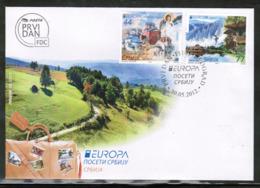 CEPT 2012 RS MI 464-65 SERBIA FDC - Europa-CEPT