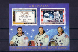 SPACE - Moon Landing - GRENADA - S/S MNH - Spazio