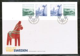 CEPT 2012 SE MI 2866-56 SWEDEN FDC - 2012