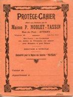 Ardennes. ATTIGNY. Protège-cahier NOBLET-TASSIN - Vieux Papiers