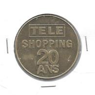 Médaille Monnaie De Paris Télé Shopping 20 Ans - Monnaie De Paris