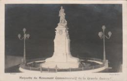 BOLBEC : Maquette Du Monument Commémoratif De La Grande Guerre.(carte-photo.) - Bolbec