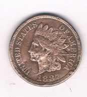 ONE CENT   1887  USA /8745/ - Federal Issues