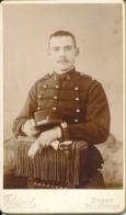 CDV : Portrait Du Militaire Maurice Chevalet Du 6ème Régiment Par THIRIOT à Nancy (1900) Scan Recto/verso - Oud (voor 1900)