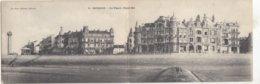 OOSTENDE / PANORAMAKAART / VUURTOREN EN ZEEDIJK  1908 - Oostende