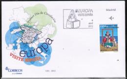 CEPT 2012 ES MI 4688 SPAIN FDC - Europa-CEPT