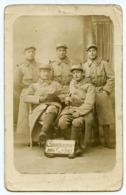 Jeune Homme Man Militaire 14-18 WW1  Soldat Carte Photo Rppc Groupe Campagne 1914 1915 23e Regiment - Oorlog, Militair