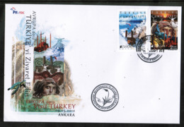 CEPT 2012 TR MI 3954-55 TURKEY FDC - Europa-CEPT