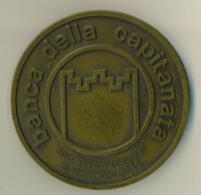 Medaglia Bronzo -1985 -  BANCA DELLA CAPITANATA - BTS - Diametro 70 Mm - Peso 164 G - Italia