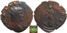 Roman Empire - AE Antoninian Of Gallienus (253-268 AD), FORTVNA RED, Scarce - 5. L'Anarchie Militaire (235 à 284)