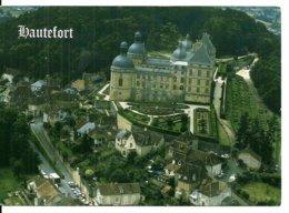 24  Château De HAUTEFORT La France Vue Du Ciel    Vue Aérienne - Francia