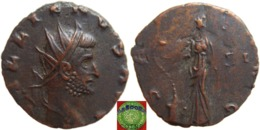 Roman Empire - AE Antoninian Of Gallienus (253-268 AD), SALVS AVG - 5. L'Anarchie Militaire (235 à 284)