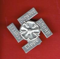 INSIGNE ALLEMAND 15.11.1933 VICTOIRE DU NSDAP VILLE DE LIPPE FABRICANT Paulmann & Crone Ludenscheid - 1939-45