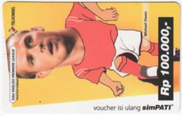 INDONESIA A-499 Prepaid SimPATI - Sport, Soccer - Used - Indonesien