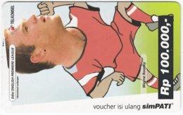 INDONESIA A-500 Prepaid SimPATI - Sport, Soccer - Used - Indonesien