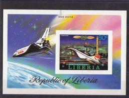 SPACE - LIBERIA - S/S Imp. MNH - Spazio