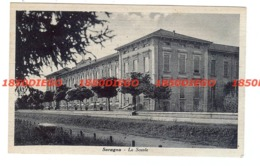 SORAGNA - LE SCUOLE F/PICCOLO VIAGGIATA 1942 - Parma
