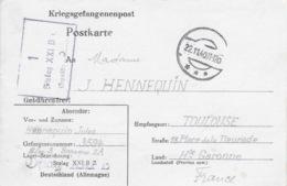 STALAG XXI B 1 GEPRÜFT - 22 Novembre 1940 - Carte De Thur (Turek En Pologne) Pour Toulouse - Surcharge OFLAG XXI B - Marcophilie (Lettres)