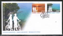 CEPT 2012 CY MI 1237-37 CYPRUS FDC - Europa-CEPT