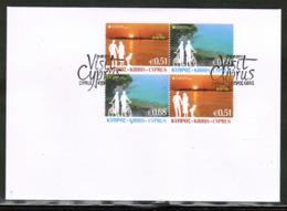 CEPT 2012 CY MI 1237-37 X2 CYPRUS FDC - 2012
