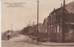 C. P. A. - SOISY SOUS MONTMORENCY - AVENUE KELLERMANN ET LA GENDARMERIE - E. M. - Soisy-sous-Montmorency