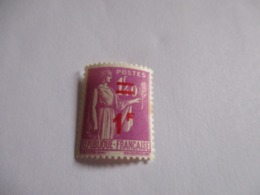 Timbre Type Paix 1F Sur 1F40 Lilas 1941 .Y & T N°484.Neuf. - 1932-39 Paix
