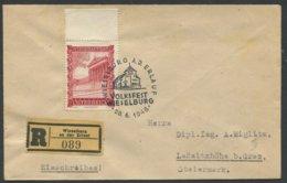 ÖSTERREICH / Reco Brief Von Wieselburg An Der Erlauf Nach Laßnitzhöhe Bei Graz Mit Sonderstempel Volksfest Wieselburg - 1945-60 Storia Postale
