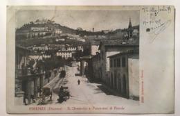 V 10932 Firenze (dintorni) S.Domenico E Panorama Di Fiesole - Firenze