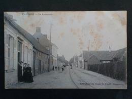 1909 CP Animée Overmeire De Kerkstraat Berlare Edit Aimé De Regge - Berlare