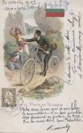 Bulgarie - La Poste En Bulgarie - Facteur Bicyclette Vélo - Brigands - Entier Postal 1903 - Bulgaria