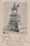 Bulgarie - Sofia - Statue Equestre Tsar Libérateur Alexandre II - Postmarked 1901 - Bulgaria