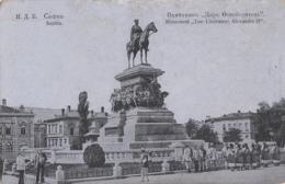Bulgarie - Sofia - Monument Du Tsar Libérateur Alexandre II - Bulgaria