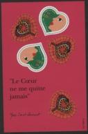 """BF 27 """"Le Coeur Ne Me Quitte Famais / Yves Saint Laurent"""". Neuf Sans Charnière **. TB - Sheetlets"""
