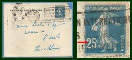 Flamme Exposition Internationale Des Arts Décoratifs ...Paris Saint Roch 1924 / N° 140 Variété / L Chambre Des Députés - Variétés: 1921-30 Lettres & Documents