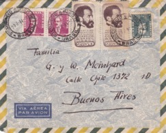 BRASIL ENVELOPPE CIRCULEE RIO GRANDE DO SUL A BUENOS AIRES, ARGENTINA. ANNEE 1961 PAR AVION -LILHU - Brazilië