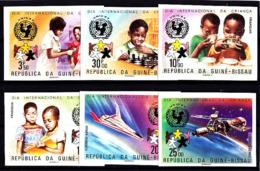 SPACE - GUINEA BISSAU - Set Imp. MNH - Spazio