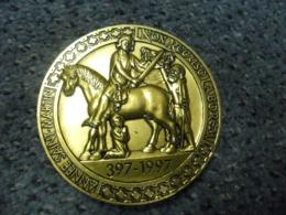 MEDAILLE SAINT MARTIN DE TOURS (37) 397 - 1997 - St Martin Partageant Son Manteau Avec Un Mendiant - Monnaie De Paris - France
