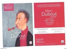 Carte 15x10   DUBOUT   Expo Albert Dubout Peintre Montpellier 2013 - Dubout