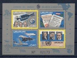 URUGUAY *1975 * M/Sheet (4 Stamps) *MNH** Events - Mi.No BL27 - Uruguay