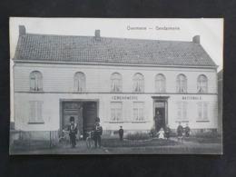 1909 CP Animée Overmeire Berlare Gendarmerie Nationale Gendarmes Vélo  Edit Suy - Berlare