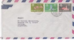 NEDERLAND ANTILLEN ENVELOPPE CIRCULEE DE WILLEMSTAD, CURAÇAO A CRISOL, CORDOBA, ARGENTINA. ANNEE 1964 PAR AVION -LILHU - Antilles