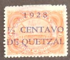 GUATEMALA YT 228 OBLITÉRÉ ANNÉE 1929 - Guatemala