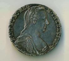 AUSTRIA IMPERO (M.Teresa) Thaler 1780 ARGENTO PESO 28,50 Gr 40 Mm RARO - OSSIDO NATURALE NON PULITA - Austria