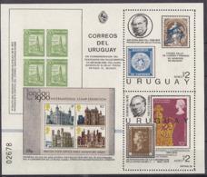 SPACE - URUGUAY - Sheet MNH - Spazio